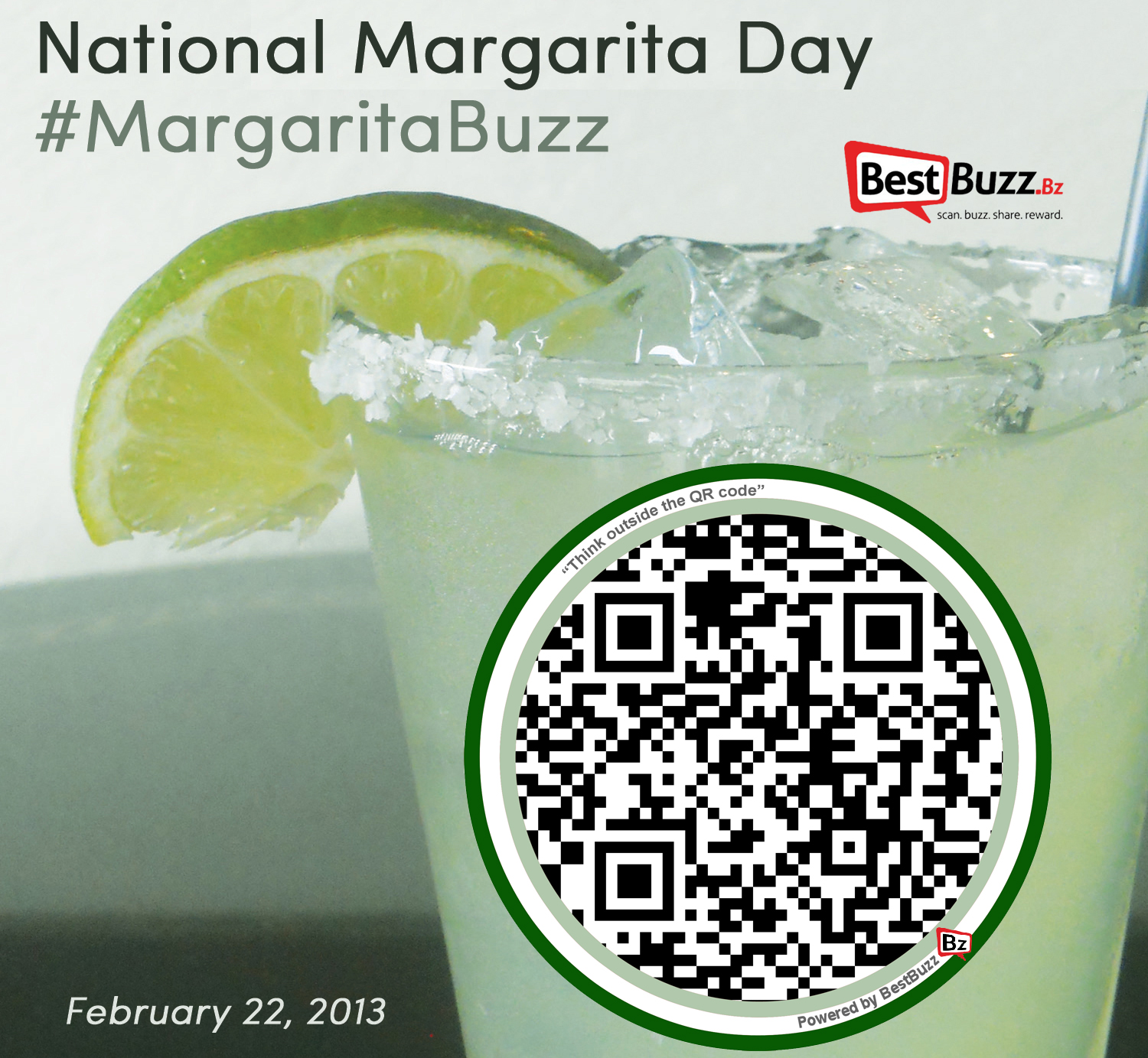 Celebrate National Margarita Day with BestBuzz Text BUZZ to 63566
