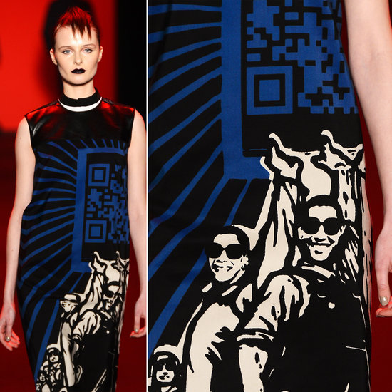 QR Codes and Fashion Week 2013