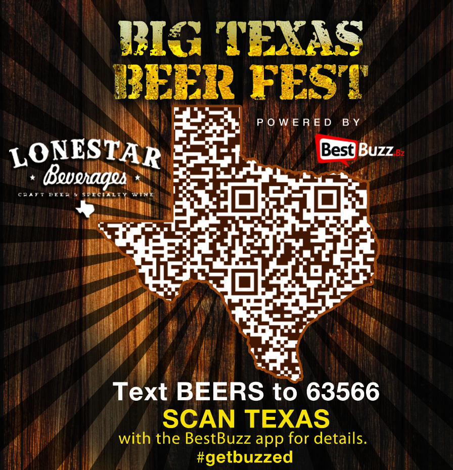 The only way to get free tickets to Big Texas Beer Fest is to scan this QR code