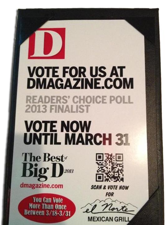 D Magazine QR Code 2013