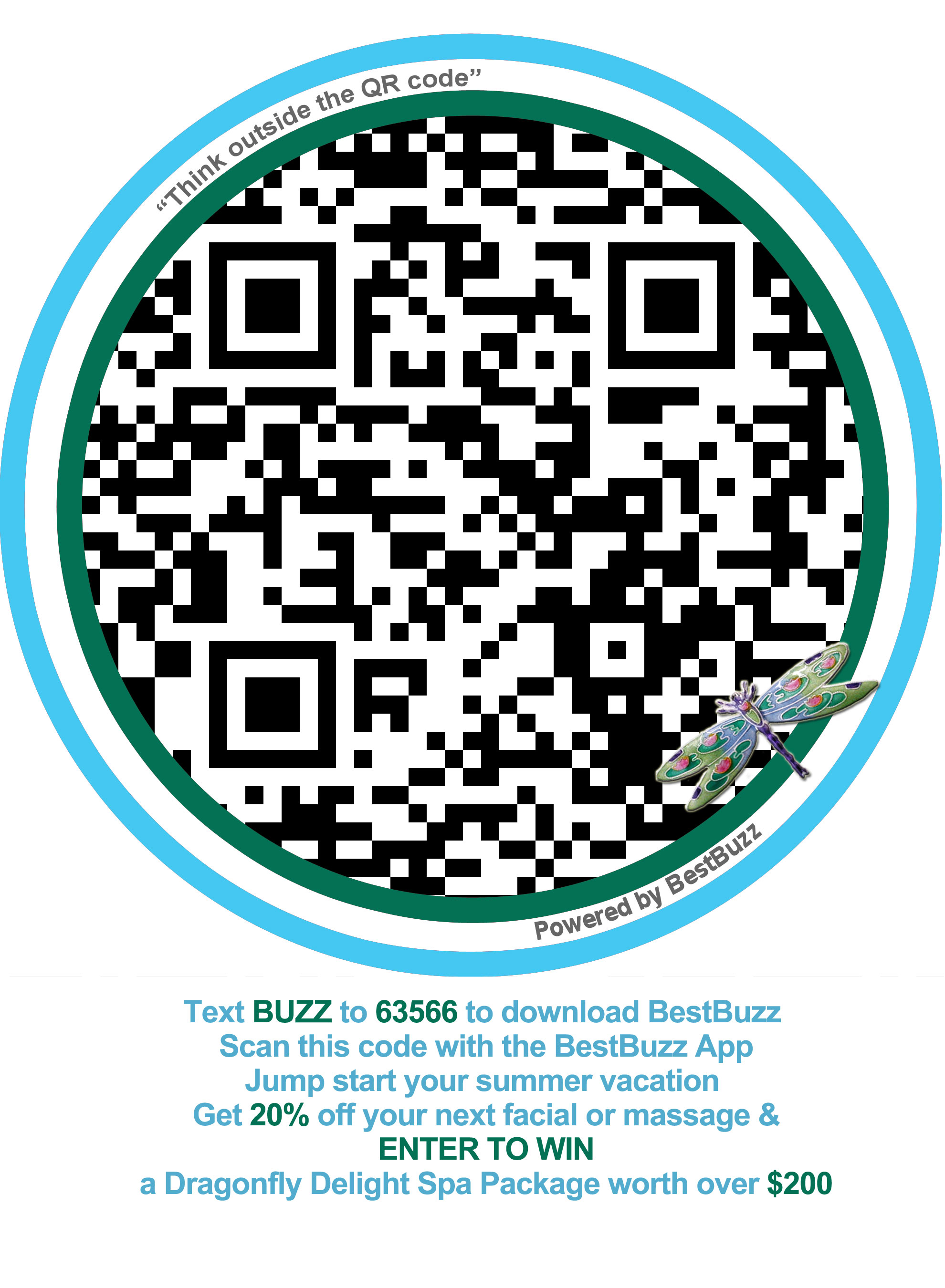 Make Mothers Day and get money off beauty services with our QR code