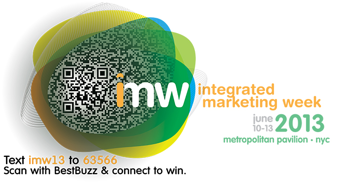 Scan the QR Code to win platinum tickets to Integrated Marketing Week