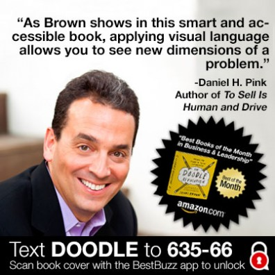 Daniel H. Pink, author of To Sell Is Human and Drive supports Sunni Brown & the #DoodleRevolution