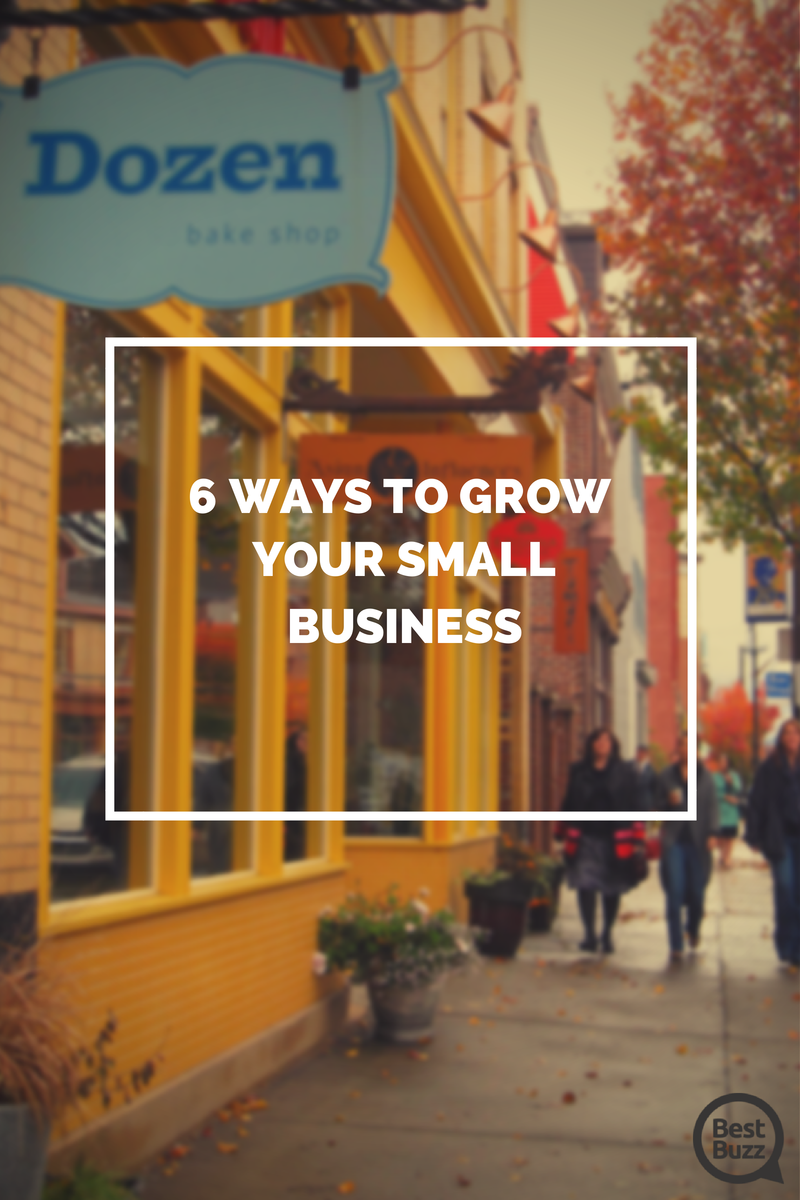 6 ways to grow your small business blog image