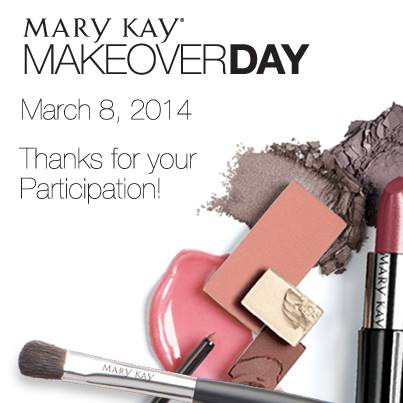Mary Kay Makeover Day 2014