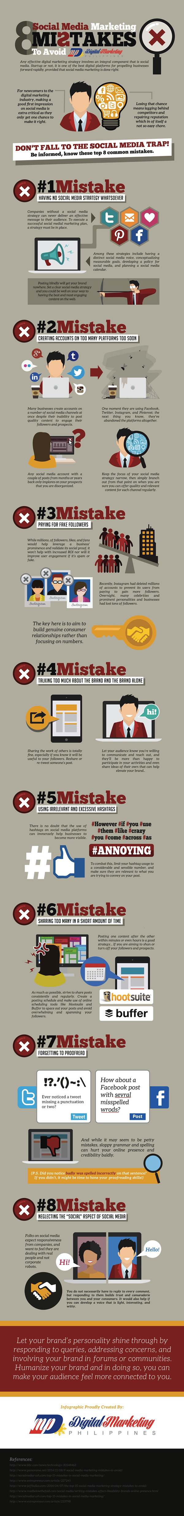8-Social-Media-Marketing-Mistakes-to-Avoid-Infographic